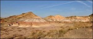 Los Monegros Desert