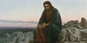 Christ in the Wilderness by Ivan Kramskoy 1872