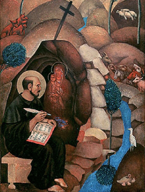 the life of saint ignatius essay The life of st ignatius loyola plate 7 pope paul iii approves the society of jesus 27th september 1540 regimini militantes by carlos saenz de tejada art nouveau (modern) history painting.